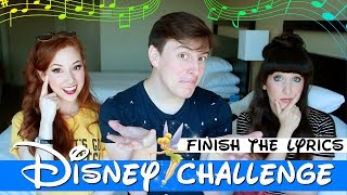 Download DISNEY CHALLENGE: FINISH THE LYRICS (ft. Thomas Sanders) Video
