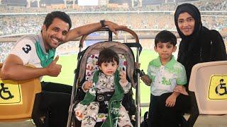 Download خالد العليان يوثق دخول النساء للملاعب لاول مرة في السعودية 🇸🇦 Video