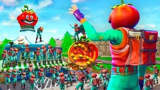Download 100 Player's Say Goodbye To Tomato Town In Fortnite Battle Royale (Emotional) Video