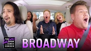 Download Broadway Carpool Karaoke ft. Hamilton & More Video