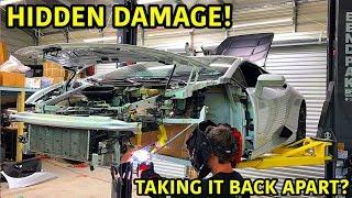 Download Rebuilding A Wrecked Lamborghini Huracan Part 16 Video