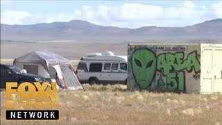 Download Fox Business talks to 'Storm Area 51' attendees in Nevada desert Video