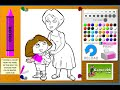 Download Dora The Explorer Coloring Games - Dora And Mom Coloring Games Video