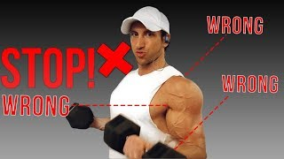 Download STOP Doing Bicep Curls LIKE THIS! (3 MISTAKES Costing You BIGGER BICEPS) Video