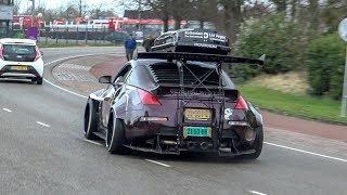 Download Modified Cars Leaving Car Meet - 1000HP Supra, Widebody 350Z, Skyline R34, Rocket Bunny S14, Cupra Video