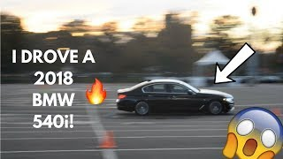 Download BMW ULTIMATE DRIVING EXPERIENCE! DRIVING THE 2018 540i Video