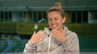 Download Sue Barker Interviews Simona Halep (The Championships 2019) Video