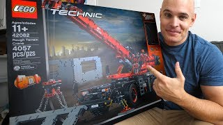 Download It FINALLY Happened!! - Building the Largest LEGO Technic Crane! Video