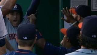 Download HOU@KC: Astros open game with nine-run 1st inning Video