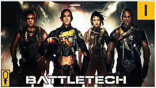 Download The First 66 Minutes of BattleTech - Part 1 - Let's Play BattleTech Gameplay Walkthrough Pre-Release Video