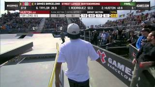 Download Nyjah Huston Final Run in SLS Final - ESPN X Games Video