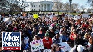 Download Students stage nationwide walkout to protest gun violence Video