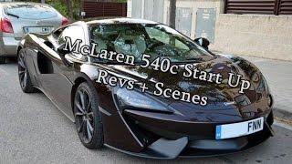 Download McLaren 540c Start Up + Revs + Scenes Video