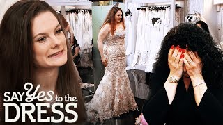 Download Mother Tries to Dissuade Bride From Getting a Gold Dress | Say Yes To The Dress UK Video