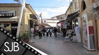 Download Walking Around North Nicosia in the Turkish Republic of Northern Cyprus - Lefkoşa, Kuzey Kıbrıs Video