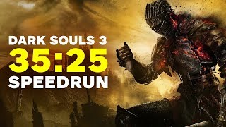 Download Dark Souls 3 Finished In 35 Minutes - Speedrun Video