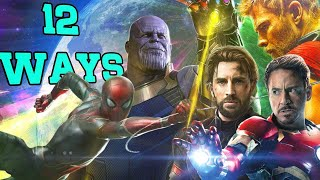Download 12 Ways Avengers: Infinity War Could End Video