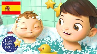 Download Canciones Infantiles | La Canción del Baño | Dibujos Animados | Little Baby Bum en Español Video