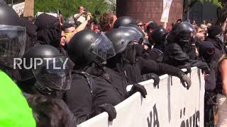 Download USA: Clashes erupt as counter-protest hits Patriot Prayer rally in Portland Video