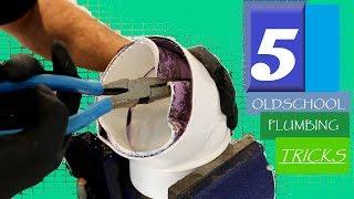 Download 5 OLDSCHOOL Plumbing Tricks! | GOT2LEARN Video