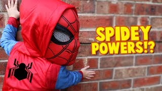Download Spider-Man Powers!? Spider-Man Homecoming Movie Gear Test for Kids Pt. 2 | KIDCITY Video