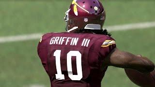 Download FLASHBACK Robert Griffin III CLUTCH RUNS IN BARN BURNER! Madden 17 Draft Champions Gameplay Video