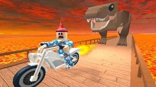 Download [로블록스(Roblox)] 공룡은 없지만 공룡한테서 도망쳐요!! (Escape The Dinosaur Obby) 간단 리뷰 & 플레이 영상 Video