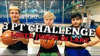 Download 3 PT CHALLENGE!! LOSER JUMPS IN LAKE!! Video