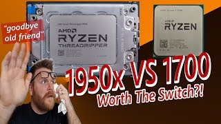 Download AMD Threadripper 1950x VS Ryzen 7 1700 Video
