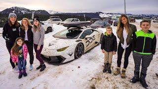 Download Family Vacation In A Lamborghini Video