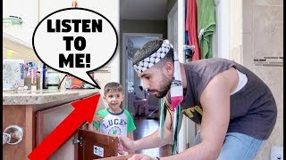 Download IGNORING 3 YEAR OLD BABY FOR 24 HOURS!!! **PRANK** Video