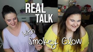 Download REAL talk about the Beauty Community & Fav Products with Smokey Glow! Video