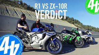 Download Yamaha R1 v Kawasaki ZX-10R - THE VERDICT! - 44Tour EP04 Video