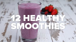 Download 12 Healthy Smoothies Video