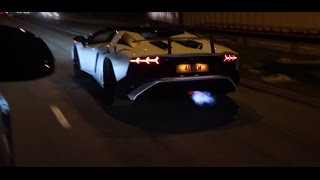 Download Late Night Run! - Flaming Aventador SV!! Tunnels and a lot more! Video
