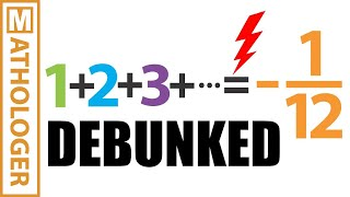 Download Numberphile v. Math: the truth about 1+2+3+...=-1/12 Video