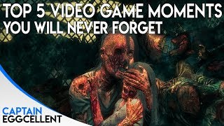 Download Top 5 Video Game Moments You Will NEVER Forget Video