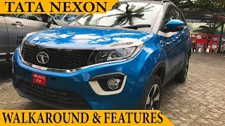 Download TATA Nexon Launched at Rs.5.85 Lakhs   TATA NEXON XZ+   Walkaround Review   Nexon Interior Exterior Video