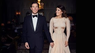 Download How Princess Eugenie's Reception Dress Broke Royal Protocol Video