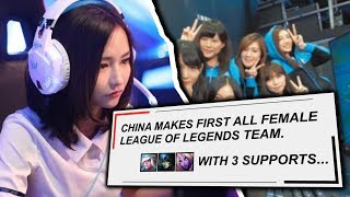 Download Why Is There No FEMALE PLAYERS In Pro League of Legends? Video