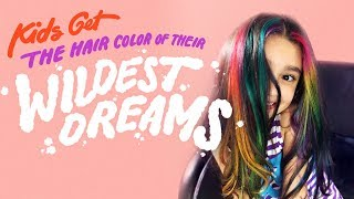 Download Kids Get the Hair Color of Their Wildest Dreams | HiHo Kids Video