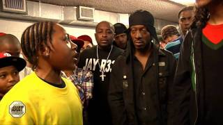 Download 14 year old rapper battles 16 yr old MC Video