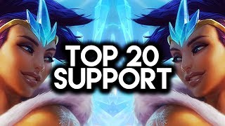 Download Top 20 SUPPORT Plays #03 | League of Legends Video