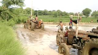 Download Tractor funny clip in irrigated land amazing HD,water problem,pakistani, Video