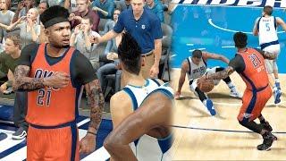 Download NBA 2k17 MyCAREER - Duke Starting 5 Haircut! Quad Ankle Breaker + Coach is Impressed! Ep. 145 Video
