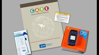 Download Check and Report Ebola (CARE) Kits – How to Monitor Your Health Video