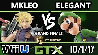 Download GTX 2017 Smash 4 - BSD | Elegant (Luigi) vs FOX MVG | MKLeo (Cloud) - Wii U G.Finals Video