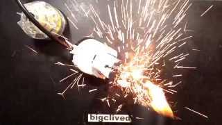 Download Power supply explodes twice. Video