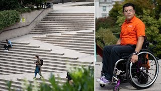 Download Vancouver's Robson Square's accessibility called into question Video