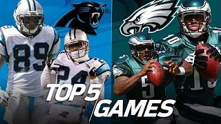 Download Top 5 Eagles vs. Panthers Games All-Time | NFL Highlights Video